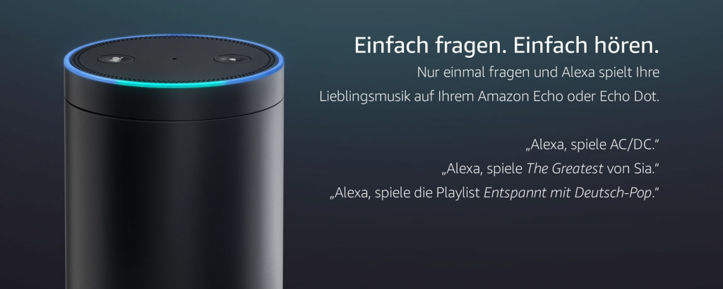 450a37dc6c8f4d Amazon Music Unlimited testen - Alexa für Musik nutzen